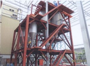Hopper Steel Structure