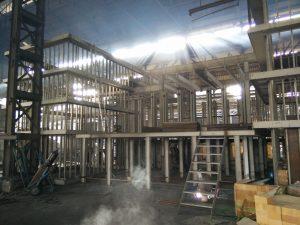 Furnace Steel Structure