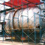 4800mm SUS304 Pressure Vessel
